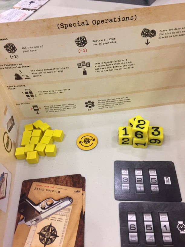 Covert dice and cards