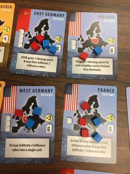 Iron Curtain - more cards