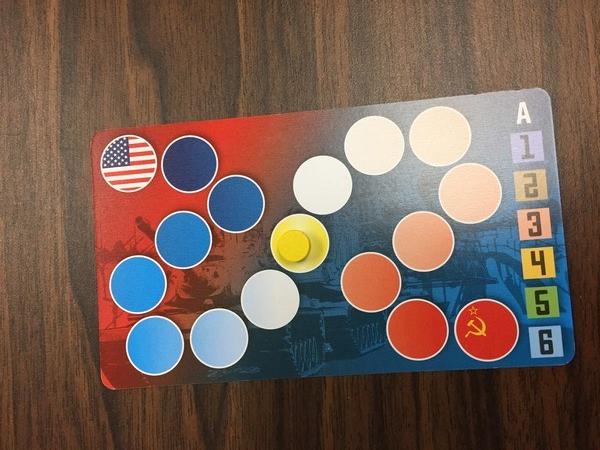 Iron Curtain scoring card