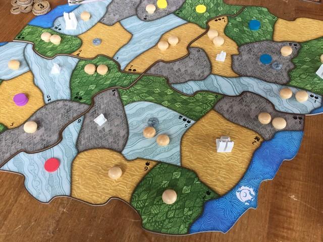 Spirit Island Map