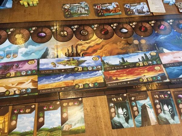City of Iron - Board