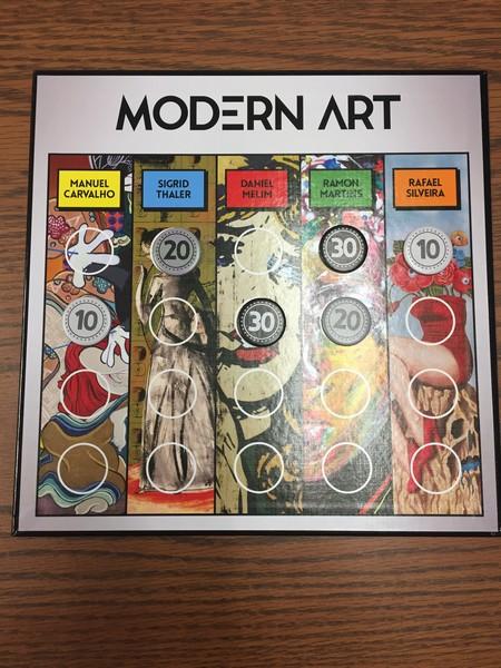 Modern Art - Board