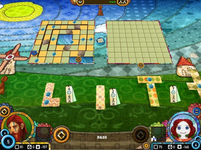 Patchwork - patches and board