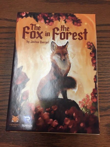 Fox in Forest box