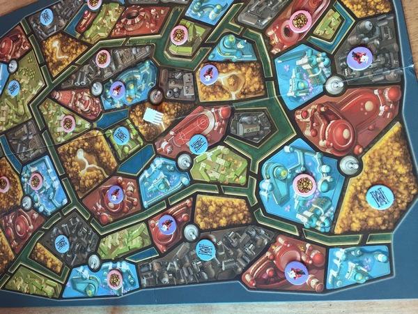 Metropolys board