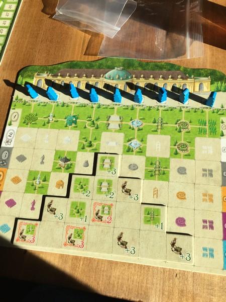 Sanssouci player board