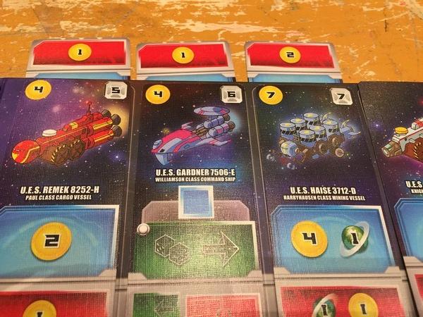 Space Base - Deployed ships
