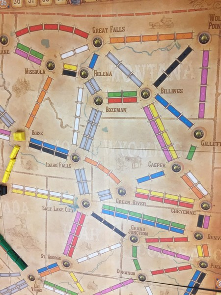 Ticket to Ride - Old West