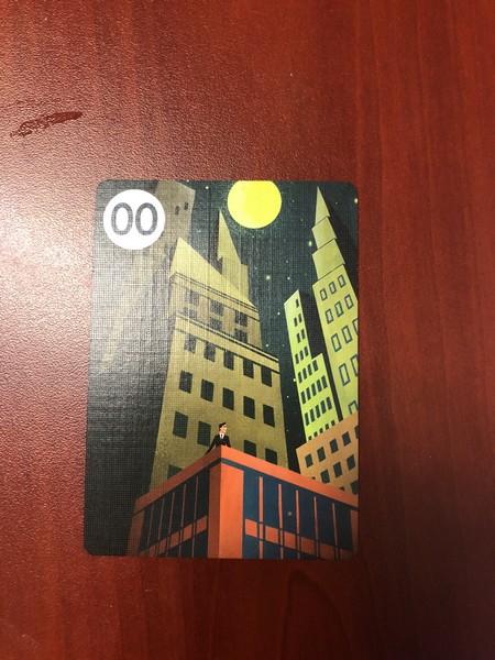 Fugitive card