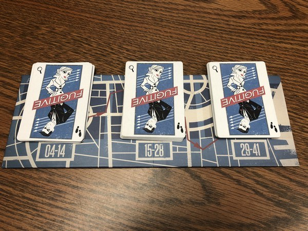 Fugitive cards layout
