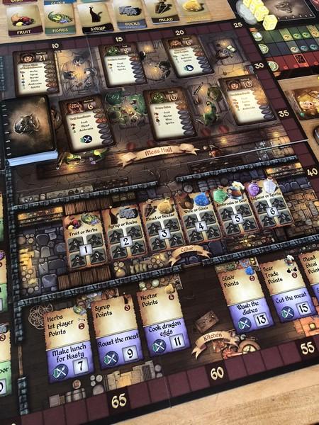 Cavern Tavern - Board