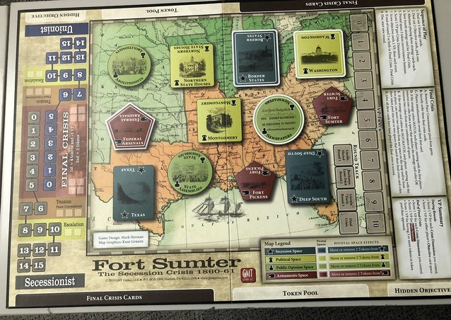 Fort Sumter - Board