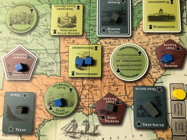 Fort Sumter - Board in Play