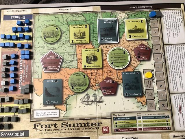 Fort Sumter - Board Setup