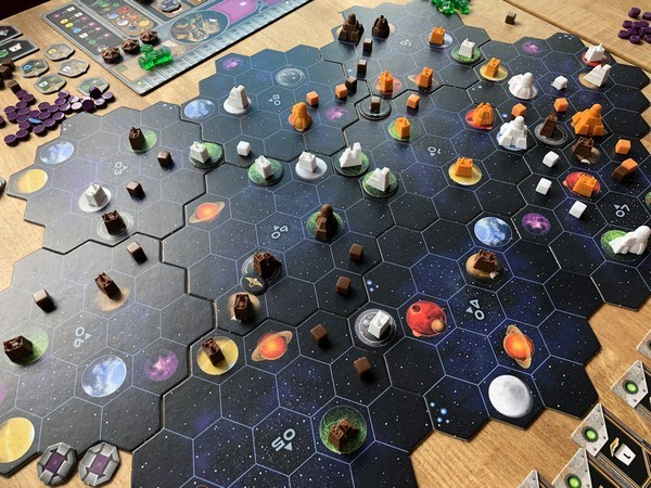 Gaia Faction - Final board