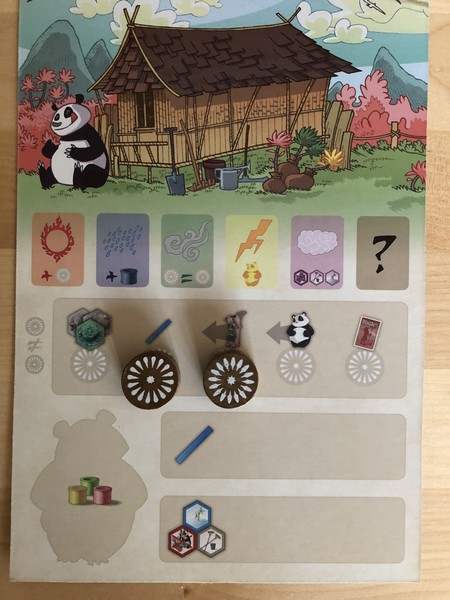 Takenoko - Player Sheet