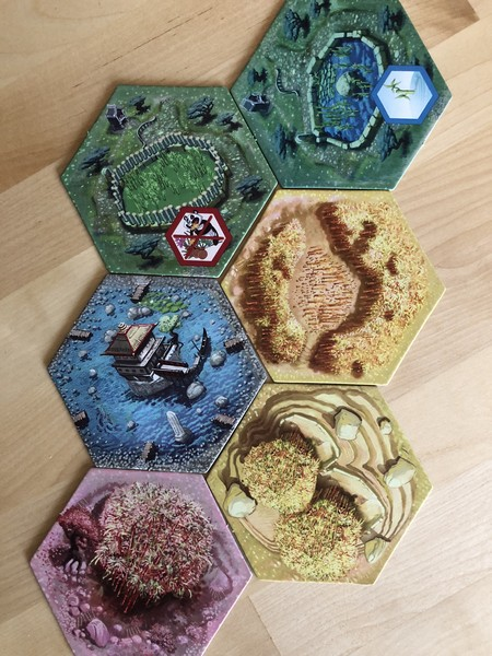 Takenoko - Tiles