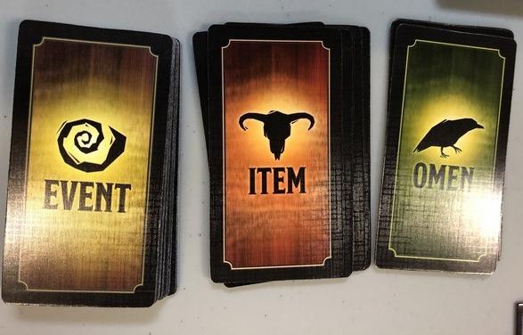 Betrayal - Cards