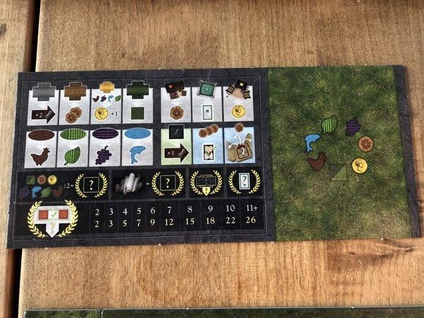 Carpe Diem - Player Aid