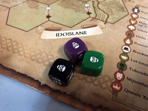 Dwarves - Monster Dice
