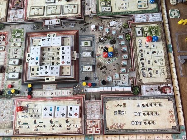 Teotihuacan - Board