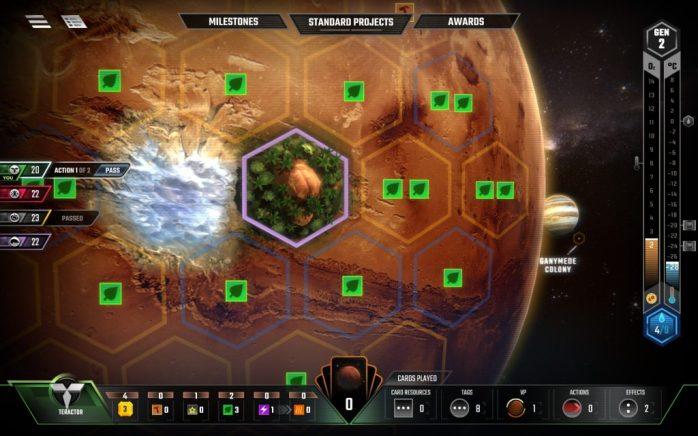 Terraforming Mars digital