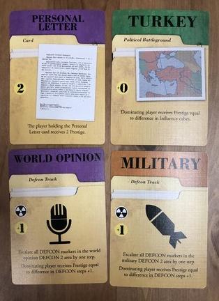 13 Days - Agenda cards
