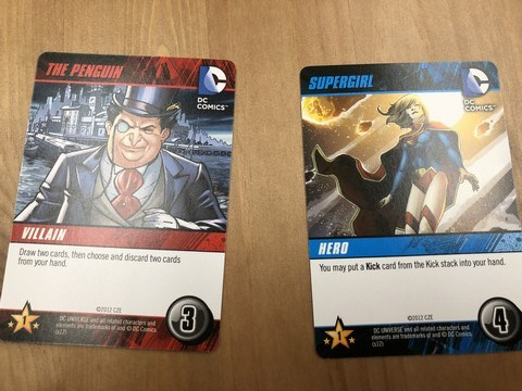DC Comics - Market Cards