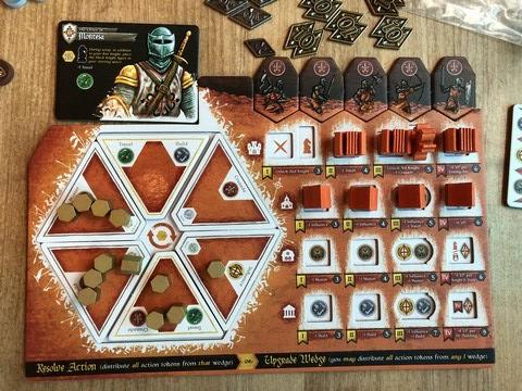 Crusaders - Final player board 2