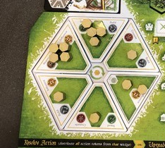 Crusaders - final player board