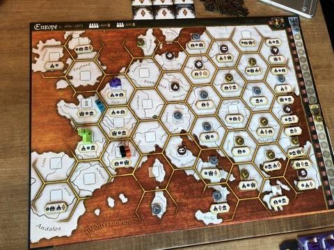 Crusaders - Map setup