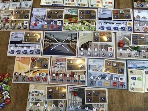 Yokohama - Board setup