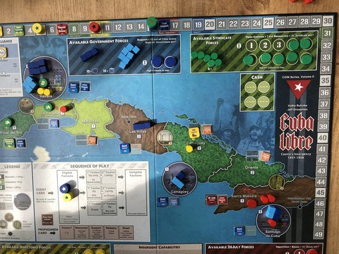 Cuba Libre - Board