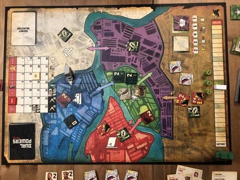 Dual Powers - Map