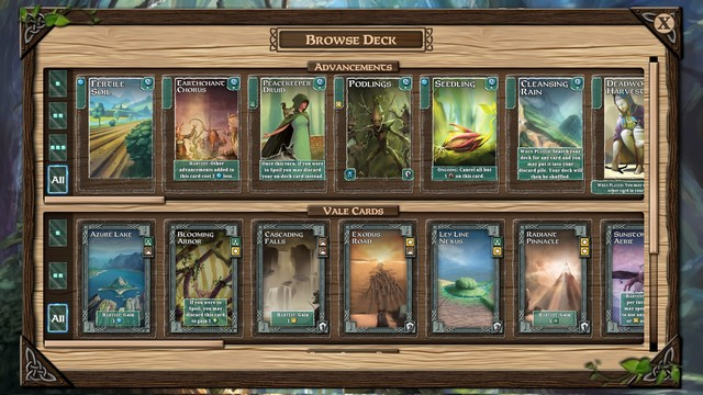 Mystic Vale - Card catalog