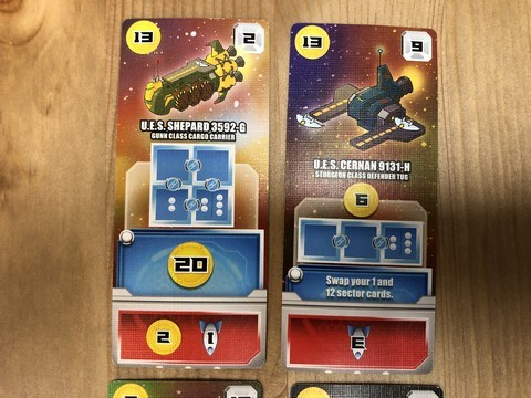 Space Base - Cards 2
