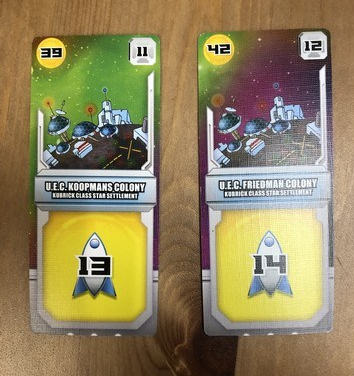 Space Base - VP cards