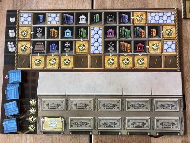 Newton - Player Board