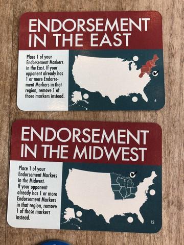 1960 - Endorsements