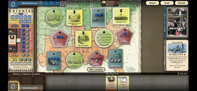 Fort Sumter Dig - Board