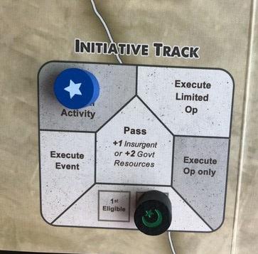 Colonial Twilight - Initiative Track