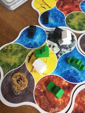 Deus - Map close up