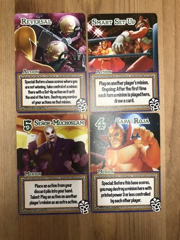 Smash Up - Luchadores