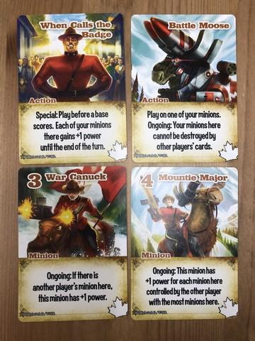 Smash Up - Mounties