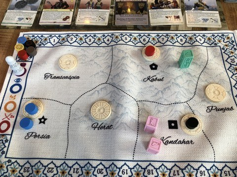 Pax Pamir - Map (Early)