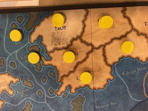 Ancient Civ - Troy populated