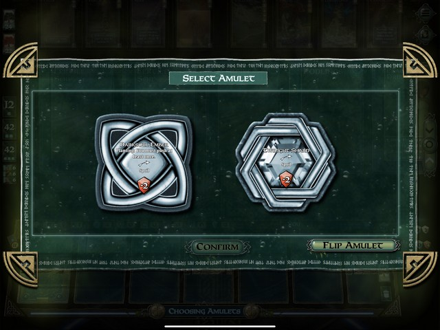 MV - MS - Amulet choice