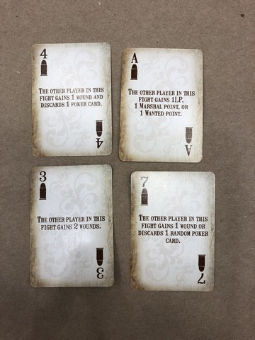 Western Legends - Fight cards