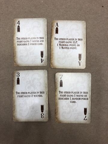Western Legends - Fight cards