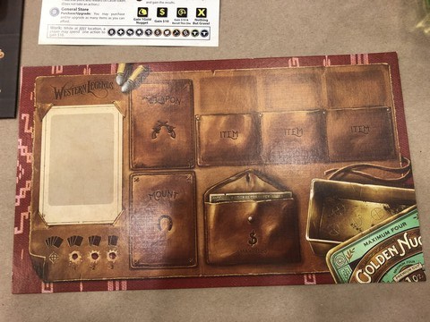 Western Legends - Player Board